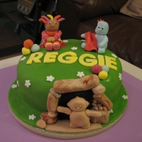 In The Night Garden Cake 1st birthday cake