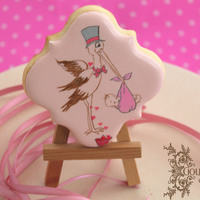 Hand Painted Royal Icing Decorated Cookie Hand painted, royal icing decorated cookie!