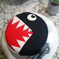 Chain Chomp Cake Off the Chain!