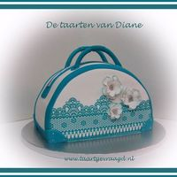 Aquablue Handbag *My first handbagcake... https://m.facebook.com/profile.php?id=301102786593250