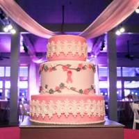 2013 Pink Tie Gala -Charleston, South Carolina As a Survivor, I was honored to donate this cake to the Pink Tie Gala which is a fund raiser for the Susan G Komen Foundation.