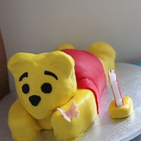 Winnie The Pooh Cake for my daughters First Birthday. Thank you Elin for the helpful tips.