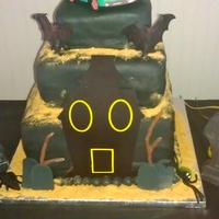 Scooby Doo Haunted Cake