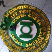 Green Lantern's Oath death by chocolate cake