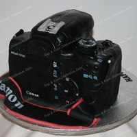 "Canon Eos 1000D Digital Slr Camera Cake Double actual size, this cake stood at over 5"" tall. I loved every second of making it. The detail was as accurate as possible and..."