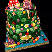 Fairy Garden Cake All edible