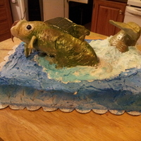 Fisherman's Fish Out Of The Water For My Son's 16Th Birthday, Fish
