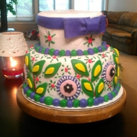 Viva La Vera Birthday Cake Birthday cake I made to match a vera bradley purse