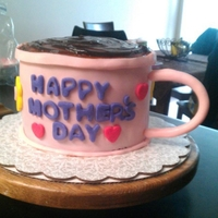 """coffe"" Cake For Mothers Day coffee mug cake for my mother in law"
