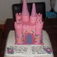 Princess Castle Storybook Cake