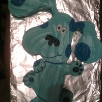 Blue's Clues A birthday cake I did for my daughter for her first birthday