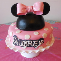 Minnie Mouse Cake AppleMark