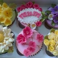 Floral Delights *These were some of my Mother's Day cakes - each box had the signature 'Mum' cake with the roses as the name of my small...