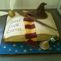 Harry Potter Cake This was one of my first ever novelty cakes, made for someone's leaving bash, they love Harry Potter!