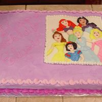 Disney Princesses Thank you Susan'scakebabies for this idea and the advice to make it. She is an awesome cake designer! I didn't even come close to...