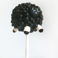 Black Sheep Sheep pop, coffee kahlua cake with chocolate cream.