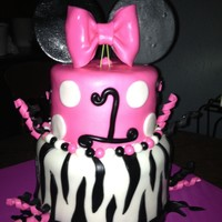 Minnie Mouse 1St Birthday Cake Minnie mouse 1st birthday cake!