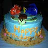 Nemo Birthday Cake Nemo Birthday cake