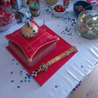 Queens Diamond Jubilee My friend had her 30th Birthday with the royal jubilee theme. She asked me to come up with a fitting cake and incorporate the crown jewels...