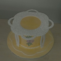 My Very First Entirely Royal Iced Cake. Before Doing This I Had Never Used Royal Icing For Anything Except Writing.