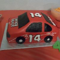 Tony Stewart Racecar Made this cake for my friend's son