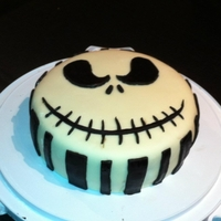 Jack Skellington   Nightmare Before Christmas Cake!