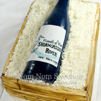 Wine Crate Cake Wine crate cake I made for a local fundraiser that were having a wine themed gathering/wine tasting. It was a huge hit. Everything is...