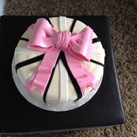 Birthday, Woman's Cake, Ribbon Cake, Gift Cake