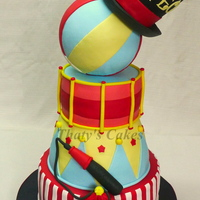 Circus Cake All edible.