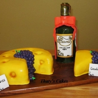 Cheese And Wine Cake