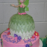 Birthday Cake For My Nieces 3 Yr Old, Tinkerbell.