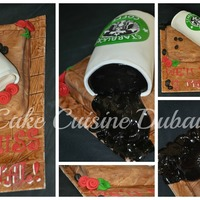 Made This Cake For A Starbucks Fan Httpwwwfacebookcomirumzcakecuisine Made this cake for a starbucks fan... http://www.facebook.com/IrumzCakeCuisine