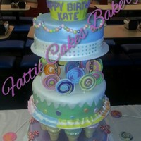 "Wilton 2012 Yearbook Copy Candy Land Cake Wilton 2012 yearbook copy ""candy land cake"""