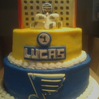 Stl Blues St Louis Blues 1st Birthday cake