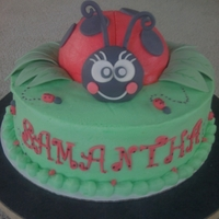 Ladybug Ladybug cake for girls birthday