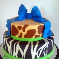 Animal Print Baby Shower Animal print baby shower