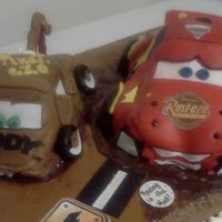 Cars Theme Chocolate Cake Chocolate Butter Cream Homemade Fondant Cars Theme Chocolate cake-Chocolate butter cream- Homemade fondant