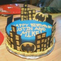 Batman Themed Birthday Cake batman themed birthday cake