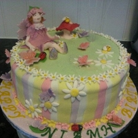Birthday fairy theme