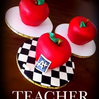 Apple Cakes Teacher Appreciation Week Apple Cakes Teacher Appreciation Week