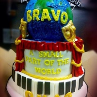 Musical Theatre Inspired Cake Musical Theatre inspired cake