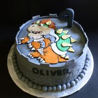 Bowser Birthday Cake Bowser birthday cake