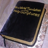 Bible Cake Made this for Pioneer School feeding!
