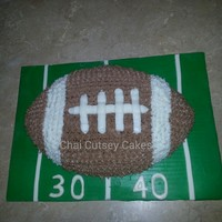 My Football Theme Cake My Football Theme Cake