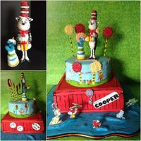 Dr Seuss *A compilation of ideas from various cakes I found online in image search for Dr Seuss cakes. All edible