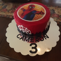 Spiderman Made a spider man cake for a friends grandson. Big hit1