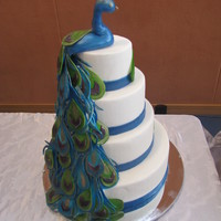 Pea**** Themed Wedding Cake