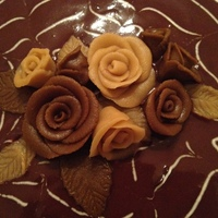 Chocolate Roses Chocolate roses...