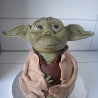 I Gave Yoda A Try D For Teenagers Birthday Its A Nutella Cake With Creamcheesewhite Chocolatevanilla Filling I gave Yoda a try :D for teenagers birthday. It's a Nutella cake with creamcheese/white chocolate/vanilla filling