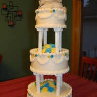 Replica Wedding Cake For 30Th Anniversary